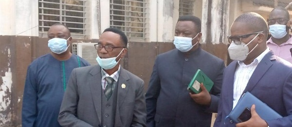 Acting Health Minister Inspects Connaught Hospital